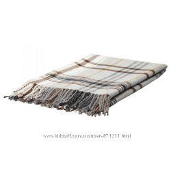 Плед, коричневый Икеа Гермине, 202. 121. 62 Hermine Ikea В наличии