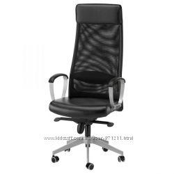 Рабочий стул, черный  Икеа Маркус, 401. 031. 00 Markus Ikea В наличии