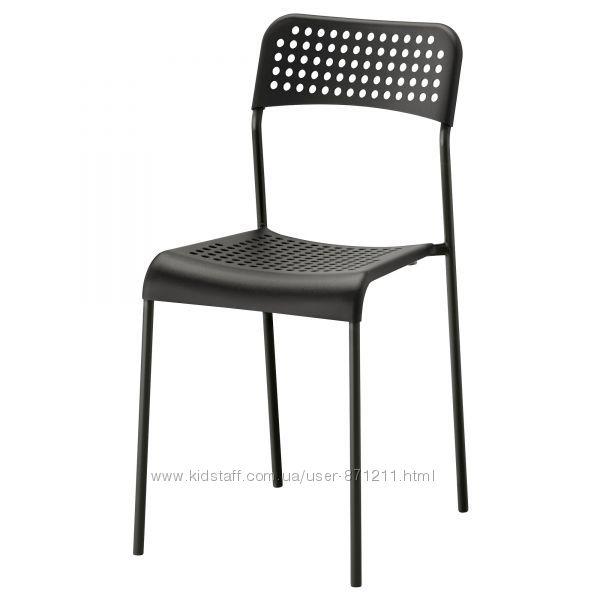 Стул, черный  Икеа Адде, 902. 142. 85 Adde Ikea В наличии