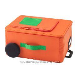 Контейнер, оранжевый Икеа Флюттбар, 803. 292. 44 Flyttbar Ikea В наличии
