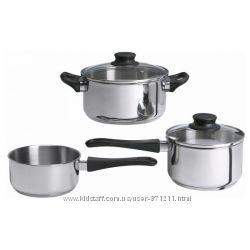 Набор кухонной посуды, Аннонс, Annons  902. 074. 02  Икеа Ikea В наличии