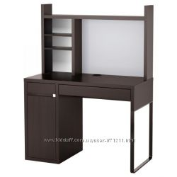 Рабочее место, черно-коричневый, Micke Микке, 499. 267. 49 Икеа Ikea В наличи