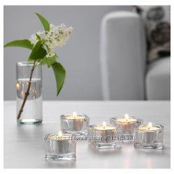 Подсвечник для греющей свечи Гласиг Glasig Икеа IKEA 002. 591. 41