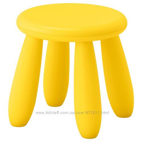Табурет детский, для домаулицы Mammut Маммут Икеа Ikea 203. 823. 24