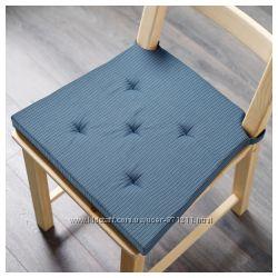 Подушка на стул на липучках Justina, Юстина Икеа IKEA  903. 661. 51 В наличии