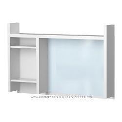 Высокий дополнит модуль, белый, IKEA ИКЕА 901. 800. 25, МИККЕ MICKE