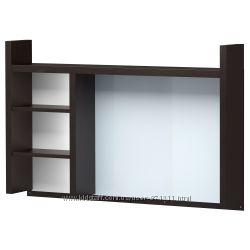Высокий дополнит модуль, венге IKEA ИКЕА 501. 800. 27 МИККЕ MICKE В наличии