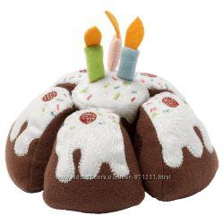 Мягкая игрушка, тортик со свечами Duktig Икеа IKEA 903. 735. 33 В наличии