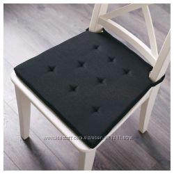 Подушка на стул, серыйчерный Justina Икеа IKEA 503. 044. 24 В наличии