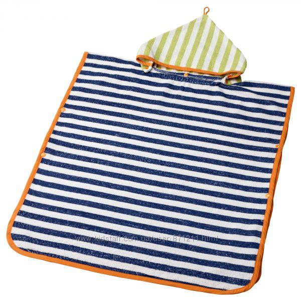 Полотенце с капюшоном детское, 60x62 см, Slappa Икеа IKEA 802. 520. 13