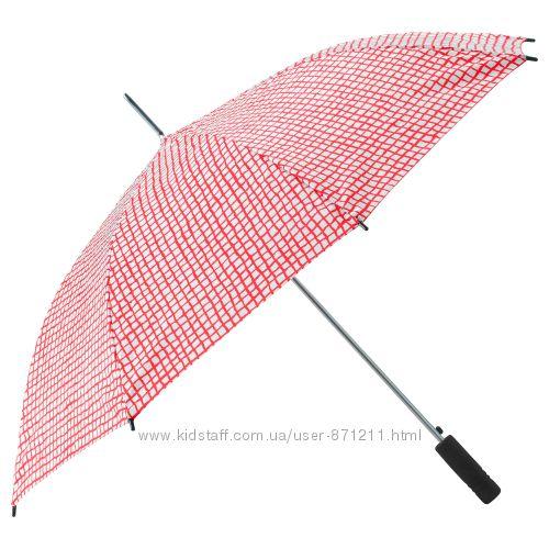 Зонт длинный, раскладной, Knalla Икеа IKEA 103. 305. 14 В наличии
