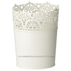 Кашпо, для домаулицы, 10. 5 см Skurar, Икеа IKEA 201. 861. 01 В наличии