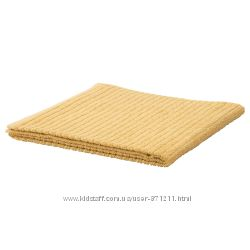 Банное полотенце, желтое, 70x140 см,  V&aringgsj&oumln, Икеа IKEA 503. 555. 50