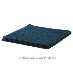 Банное полотенце, синее, 70x140 см,  V&aringgsj&oumln, Икеа IKEA 503. 536. 07