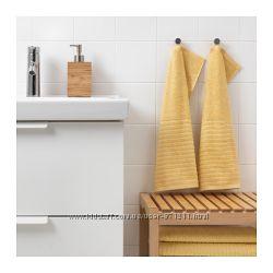 Полотенце для рук, желтое, 30x50 см, 2 шт,  V&aringgsj&oumln, Икеа IKEA 203. 555. 56