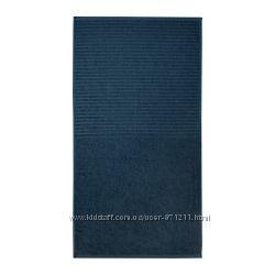 Банное полотенце, синее, 50x100 см, V&aringgsj&oumln, Икеа IKEA 803. 535. 97