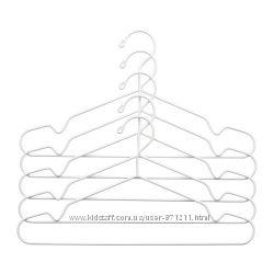 Плечики, вешаки для одежды, 5 штук Stajlig Икеа IKEA 002. 914. 19 В наличии