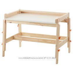 Детский письменный стол, регулируемая высота Flisat, Икеа IKEA 202. 735. 94