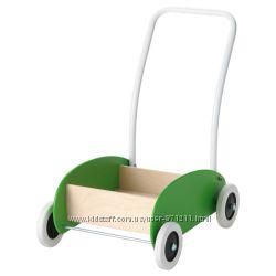 Тележка-ходунки, зеленый, береза Mula Икеа IKEA 302. 835. 78 В наличии