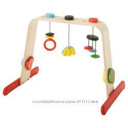 Тренажер для младенца, подставка для игрушек Leka Икеа IKEA 701. 081. 77