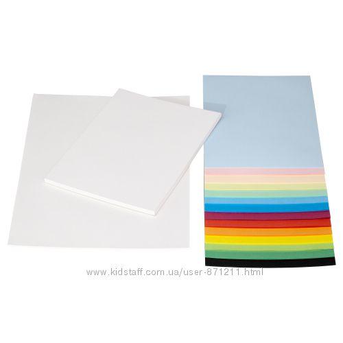 Бумага разноцветная, разные размеры Mala Икеа IKEA 301. 933. 23 В наличии