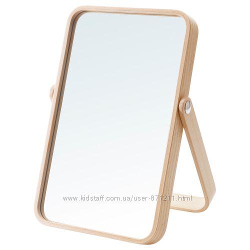Зеркало настольное, 27x40 см, Ikornnes Икеа IKEA 003. 069. 20 В наличии
