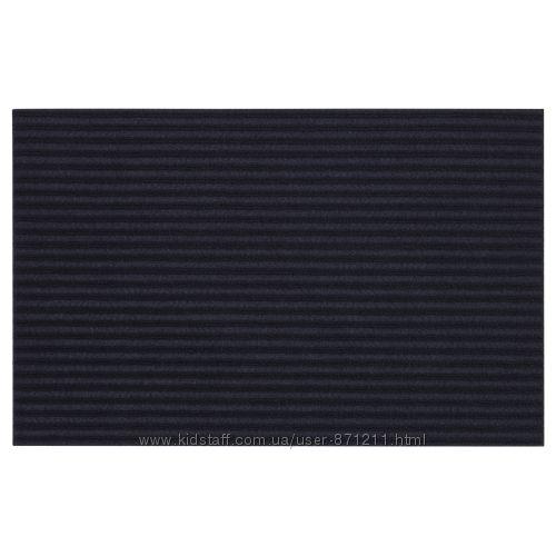 Придверный коврик, темно-синий, Kristrup Икеа IKEA 903. 924. 52 В наличии