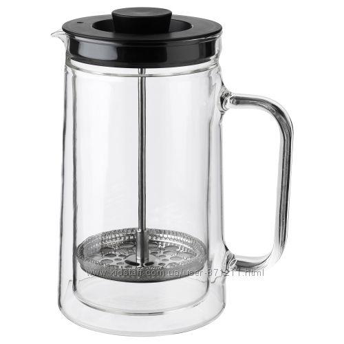 Кофе-пресс, заварочный чайник, 0. 9 л Egentlig Икеа IKEA 903. 589. 76
