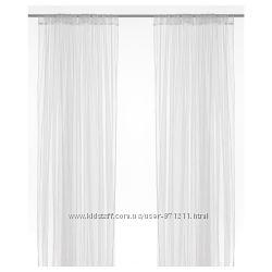Гардины, тюль белая, 280x300 см Lill Лилль Икеа IKEA 100. 702. 62 В наличии