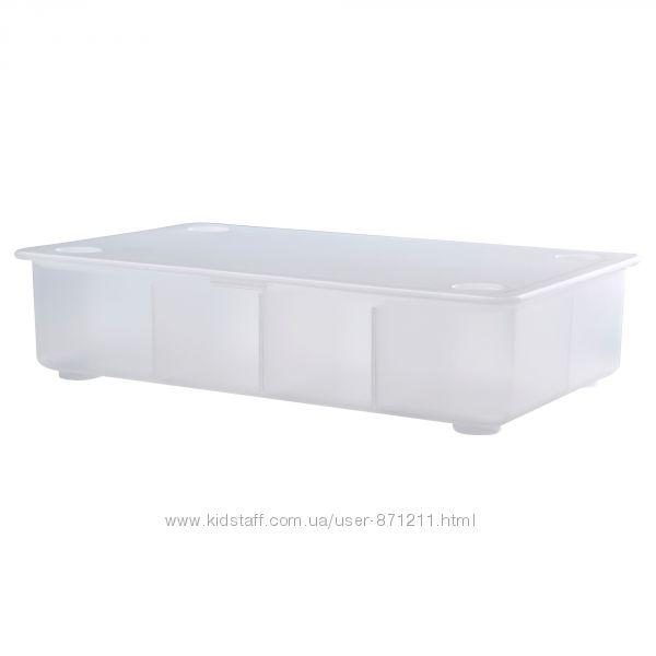 Коробка с крышкой, прозрачная Glis, Глис Икеа IKEA 002. 831. 03 В наличии