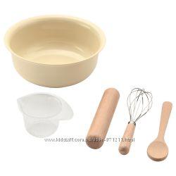 Набор для выпечки, игрушечный, 5 предметов Hemr&oumlra Икеа IKEA 203. 323.