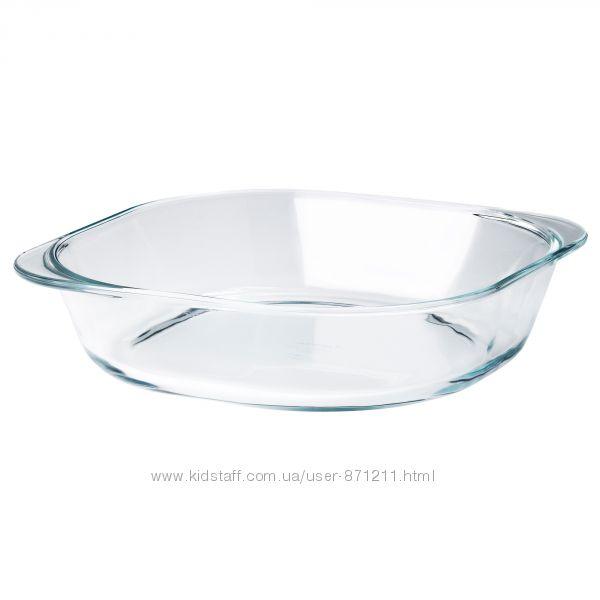 Форма для выпечки, стекло, 24. 5x24. 5 см F&oumlljsam Икеа IKEA 503. 112. 6