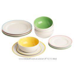 Детский набор игрушечной посуды Duktig, Дуктиг Икеа IKEA 701. 301. 64
