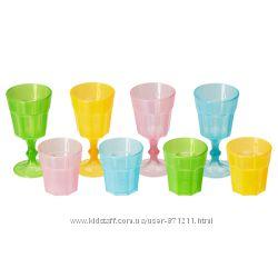 Игрушечный набор стаканов, 8 предм. Duktig, Дуктиг Икеа IKEA 001. 906. 89