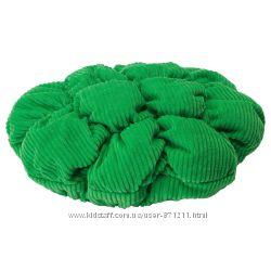 Подушка-чехол для табурета маммут, зеленый Stickat Икеа IKEA 002. 962. 71