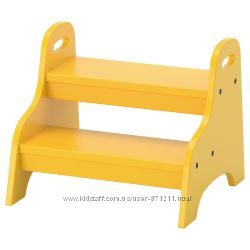 Детский стул-лестница, желтый, 40x38x33 см Trogen Икеа IKEA 803. 715. 20