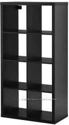 Стелаж черно-коричневый, Каллакс Kallax Ikea Икеа 202. 758. 85 В наличии