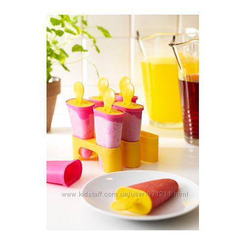 Форма для мороженого, розовая Чосигт, Chosigt, Ikea Икеа 802. 084. 78