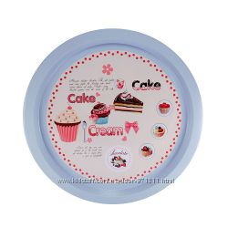Поднос круглый, Cake Cream, 32 см CH-4042