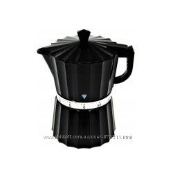 Таймер кухонный, Кофеварка, пластик, черный CH-4099