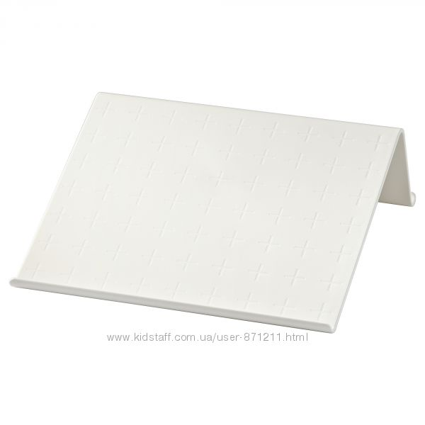 Подставка для планшета, белый, 25x25 см, Ikea, Икеа Isberget 203. 025. 96