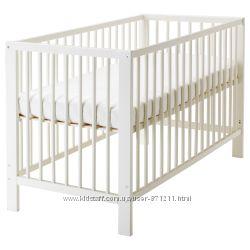 Кроватка детская, белый, Гулливер Gulliver Ikea Икеа 102. 485. 19