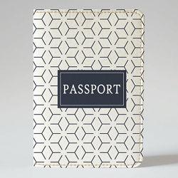 Обложка на паспорт, Мужская абстракция, экокожа Обложка на паспорт, Мужс