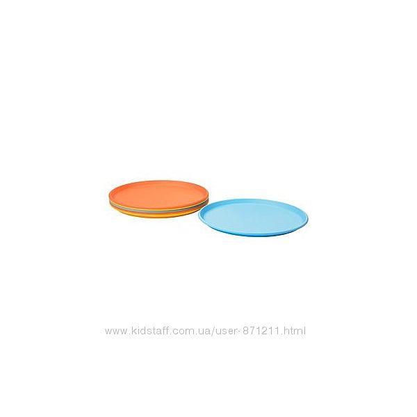 СОММАР 2019 Тарелка десертная, разные цвета, 21 см, 304. 194. 35 ИКЕА, IKEA