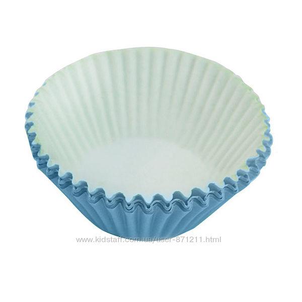 Формы для кексов, большие, голубые XI-116