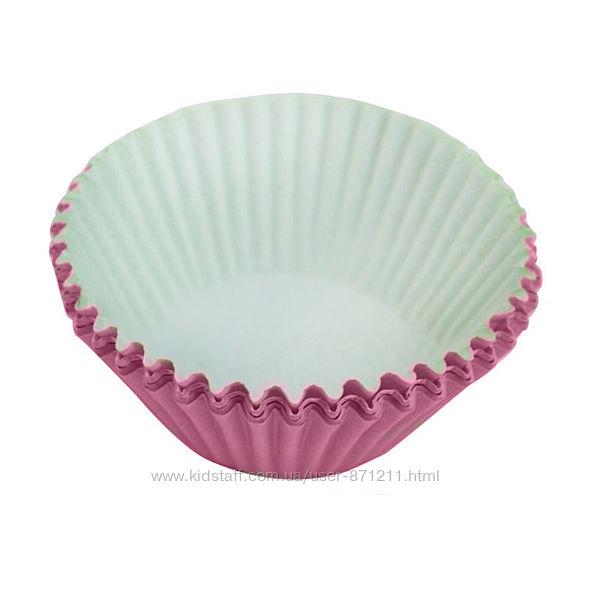 Формы для кексов, большие, розовые XI-112