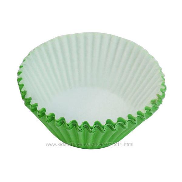 Формы для кексов, зеленые XI-103