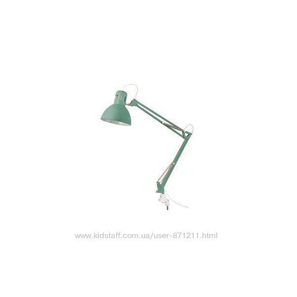 ТЕРЦИАЛ Лампа настольная, светло-зеленый, 704. 472. 19, IKEA, ИКЕА, TERTIAL