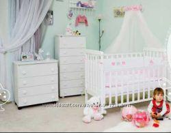 Акция Детская кроватка Верес Соня ЛД 12 качалочка белая
