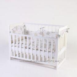Детская кроватка Верес Соня ЛД 13. белая